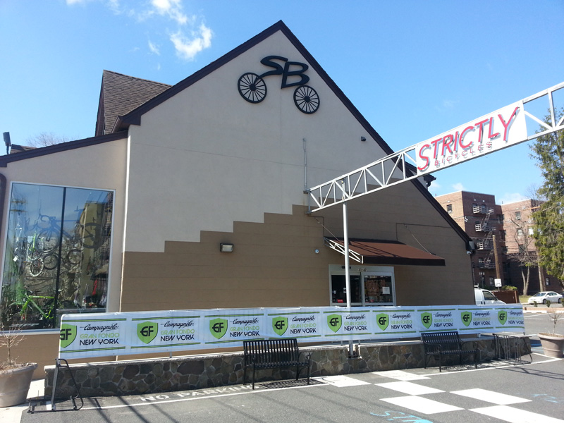 Strictly Bicycles renovation